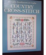 Country Cross Stitch Hardback Patterns by McCall's  - $13.99