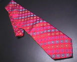 Tie bachrach bright red with rainbow colored diamonds 01 thumb155 crop