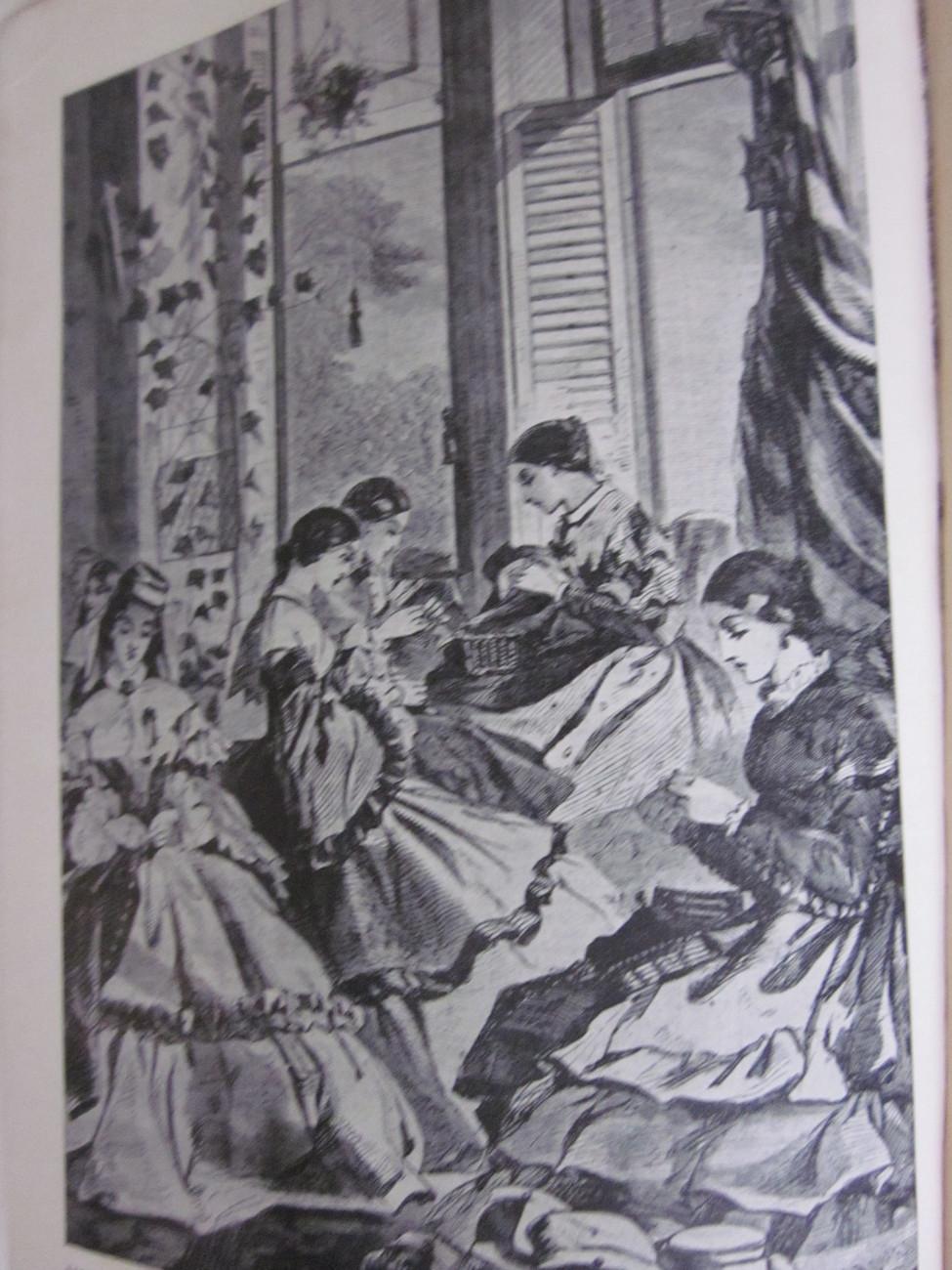 Reveille in Washington 1860 - 1865 by M. Leech Vintage Book