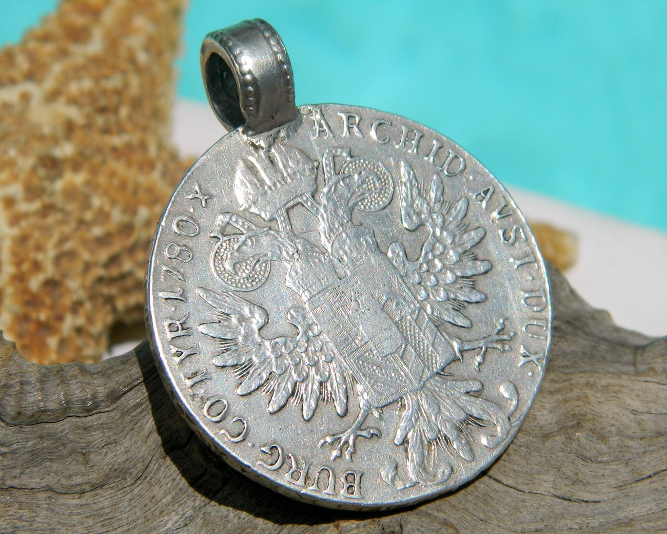 VG 1780 Austria Maria Teresa Thaler Silver Coin