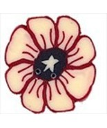 """Small Liberty Daisy 2303s handmade clay button .75""""JABC Just Another But... - $1.60"""