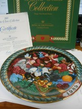 "NIB-Collector Plate-1989 BING & GRONDAHL by H.H.Hansen ""Santa's Workshop"" - $9.49"