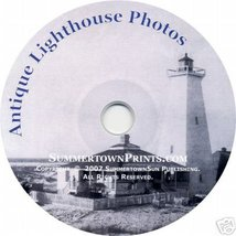 LIGHTHOUSES CD vintage antique photos images se... - $24.95