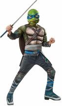 Rubie's Kids Teenage Mutant Ninja Turtles 2 Deluxe Leonardo Costume, Medium Size - $22.43