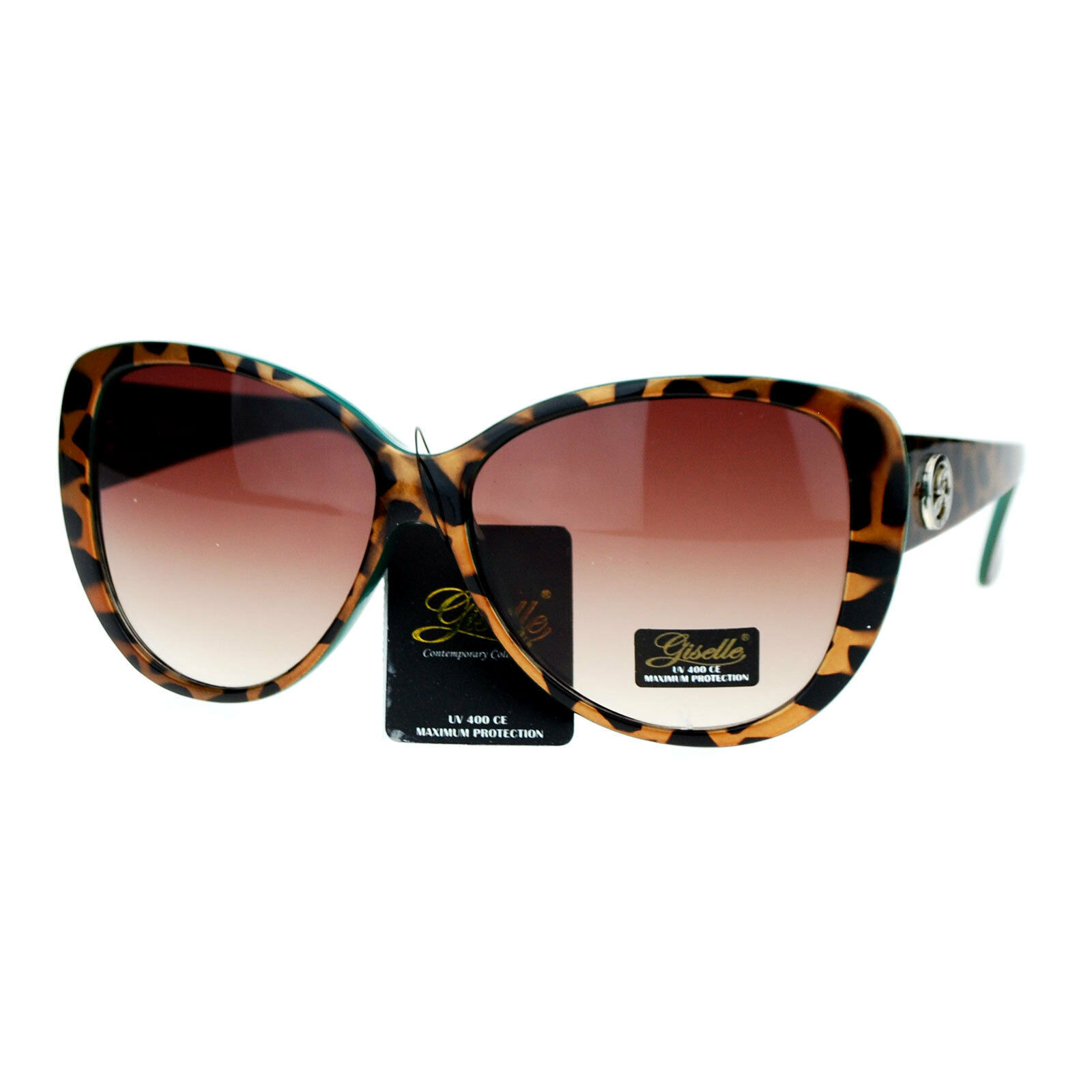 Giselle Lunettes Womens Sunglasses Oversized Cateye Butterfly Fashion Shades