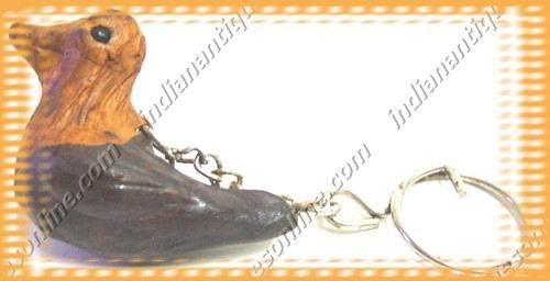 New Stylish colored Hand Crafted Duck Leather Key Chain