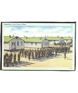 Inspection at Fort Devens Mass. linen  1.23 - $6.00