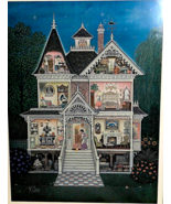 """I'll See You Yesterday 1981 Signed Limited Edition #2263 Carmel 22""""x19"""" ... - $207.90"""