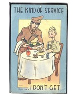 Milatary Comic The kind of service I don't get  1.27 - $6.00