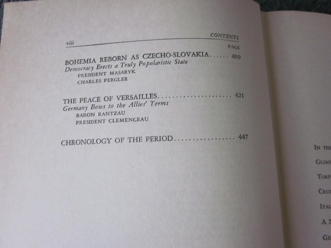 World Epochs Volume Ten 1917 to 1919