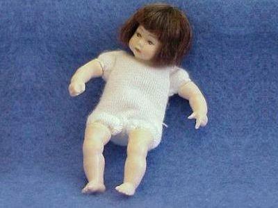 Toddler undressed brown hair heidi ott dollhouse 1