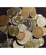 25 World / Foreign Coins - $30.00