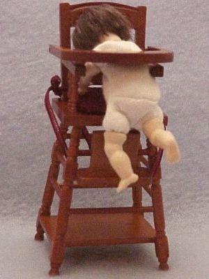 Toddler Doll WIGGED Undressed Heidi Ott Dollhouse BRN/BRN