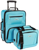 Rockland Luggage 2 Piece Set, One Size,Zipper,Travel,Clothes,Security,Sh... - $852,83 MXN+