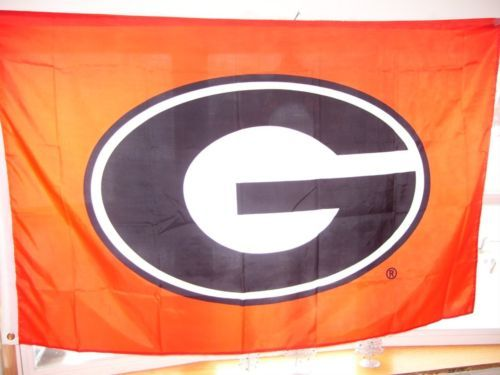 GEORGIA  college FLAG  3' X 5'
