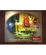 BUDWEISER BEER SIGN CLYDESDALE  works - $89.99