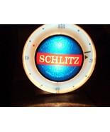 SCHLITZ BEER CLOCK with stand. - $85.00