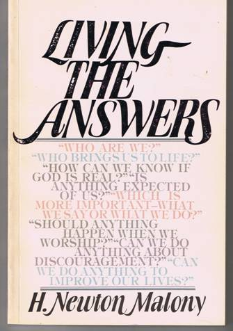 Living the Answers - H. Newton Malony - Paperback (1979)