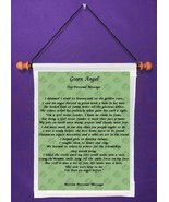 Green Angel - Personalized Wall Hanging (604-1) - $18.99