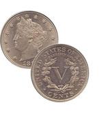 U.S. Liberty Nickles - Each - €4,08 EUR