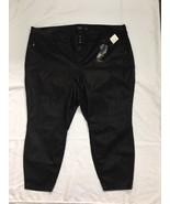 Torrid Women's Black Leather Prem Jegging Pants Size 28 - $26.71