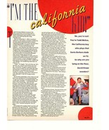 Todd Mckee teen magazine pinup clipping Bold and the beautiful Santa Bar... - $1.50