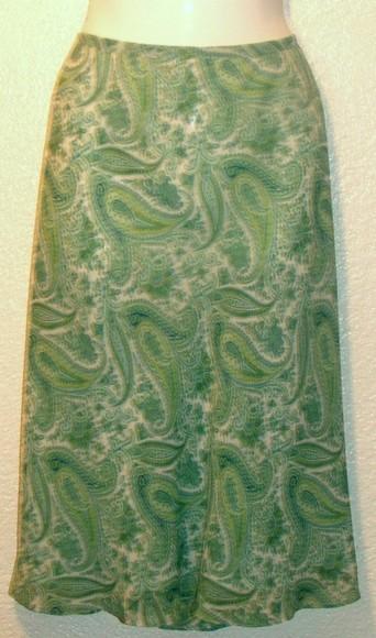 NWOT ANN TAYLOR PETITES Silk Skirt, Size 8P