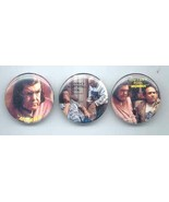 THROW MOMMA FROM THE TRAIN 3 Different Pinback Buttons - $7.98