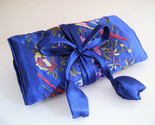 Jewelry roll silk royal blue  1  thumb155 crop