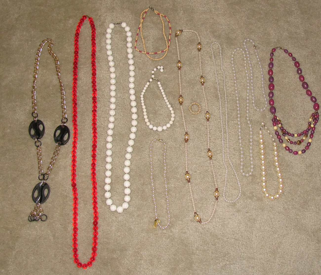 12 necklaces 12 50 inches  2