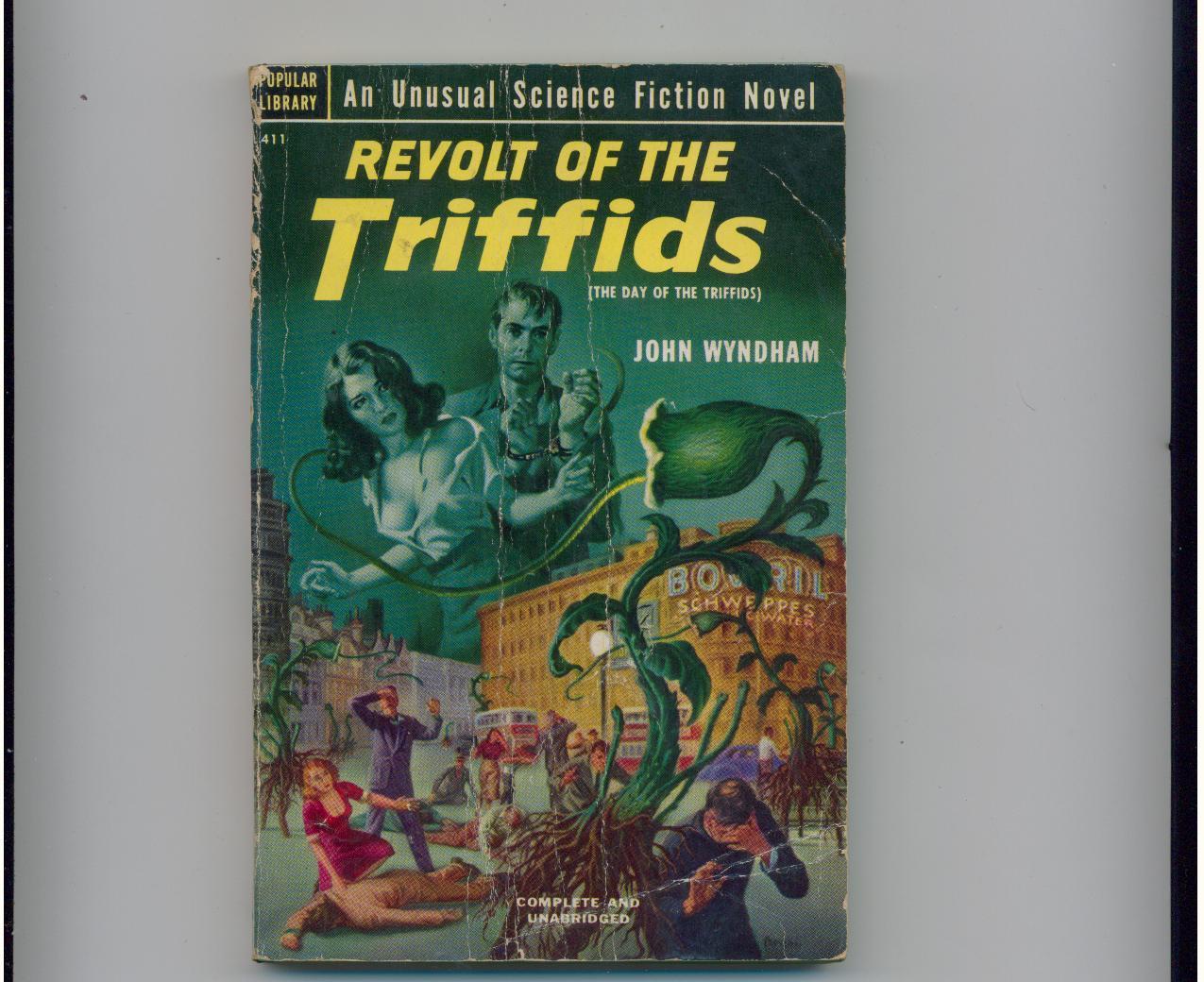 John Wyndham  REVOLT OF THE TRIFFIDS  1952  1st pb printing