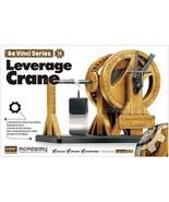 Academy 18175 Da Vinci Series Leverage Crane Model Kit NIB - $24.76