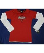 Adidas Red Nebraska Huskers Girls Size L (14) Top - $17.00