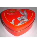 Looney Tunes Bugs Russell Stover Heart Candy Tin - $12.00