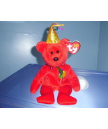 Happy Birthday Red TY Beanie Baby MWMT 2006 - $5.99