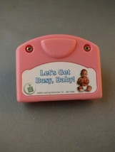 Leap Frog Little Touch Let's Get Busy, Baby replacement cartridge - $3.00