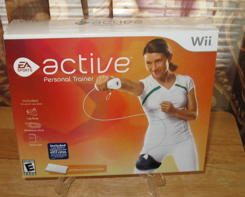 Wii Active Personal Trainer Exercise Fitness