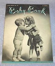 Star Baby Book Wool Vintage Fashions 1946 Knitting Crochet - $5.95