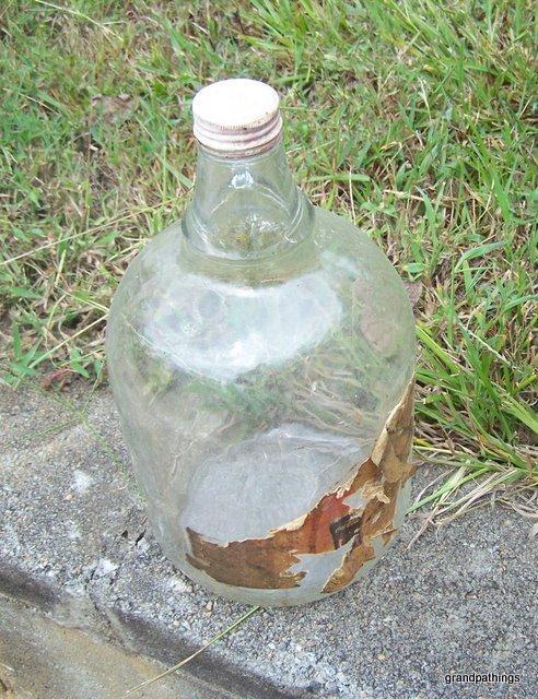 Coca cola gallon size syrup glass jug 003