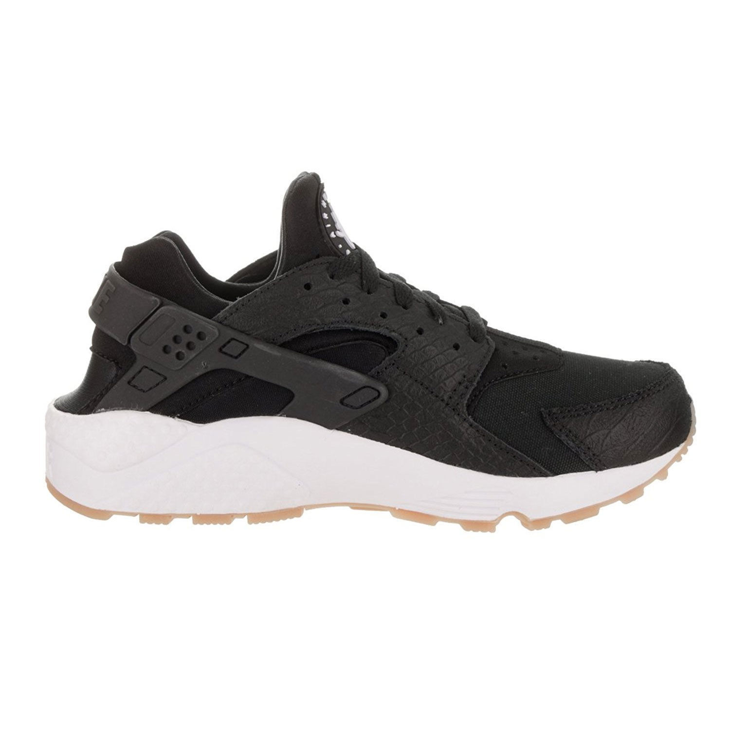Nike Women's Air Huarache Run Black/White and similar items. S l1600
