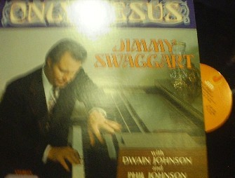 Jimmy Swaggart - Only Jesus - Jim Records LP123