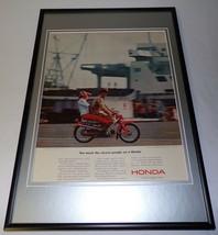 1964 Honda Super Sports Cycle Framed 11x17 ORIGINAL Vintage Advertising ... - $65.09