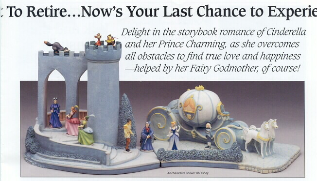 Disney Cinderella Goebel miniatures