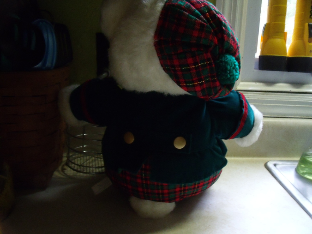 1993 KMart Holiday Plush Bear