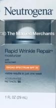 Neutrogena Rapid Wrinkle Repair Moisturizer Day SPF 30 1 oz 11/2019 READ... - $9.99