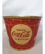 Vintage Coca Cola Popcorn Bucket Advertising Movie Theater - $36.00