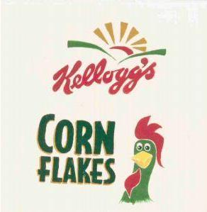 KELLOGG'S Food Label Tile Hand Painted by TN Artist