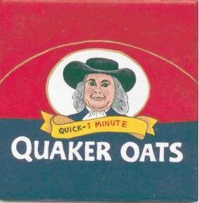 Tile  quaker oats