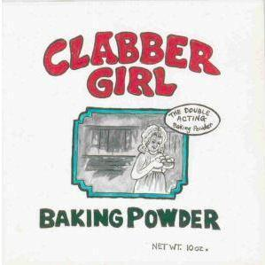 CLABBER GIRL Hand Painted Food Label Tile, TN Artist