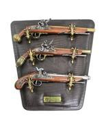 Denix Replicas 17th Century Flintlock Pistol Display Wall Mount Plaque S... - $149.95